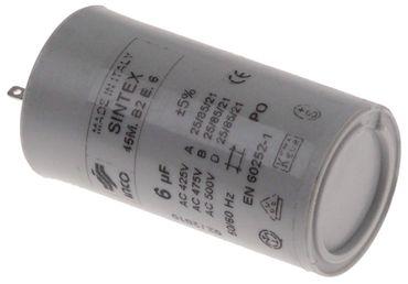Betriebskondensator 45M.B2E.6 mit Kunststoffmantel 6µF 50/60Hz