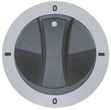 Electrolux Knebel für Herd JUN750599, JUN750529 ø 77mm silber