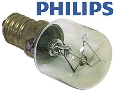 Electrolux Glühlampe Philips max. Temperatur 300°C E14 230V 15W