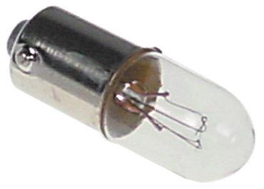 Electrolux Glühlampe für 9766492x, 9766472x Ba9s 130V 2W ø 10mm