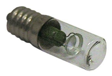 Glimmlampe E14 220V Länge 54mm ø 16mm klar