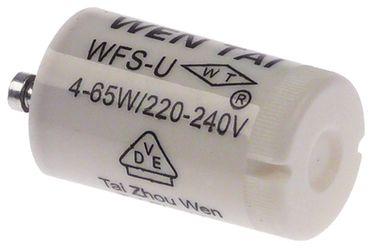 Starter WFS-U für Leuchtstofflampen ø 21,5mm FS11 Länge 35mm