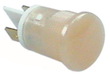 Ambach Signallampe für GSK100, GSK-150, GSK60 weiß ø 16mm 230V