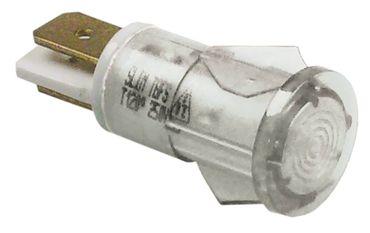 Colged Signallampe für Spülmaschine klar ø 12mm 230V 120°C