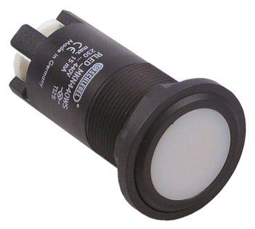 MKN Signallampe weiß ø 22mm 230-440V Schraubanschluss LED