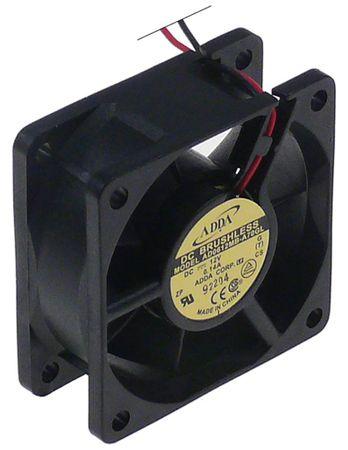 ADDA Axiallüfter 2,28W 12V DC Anschluss Kabel Kunststoff 70A