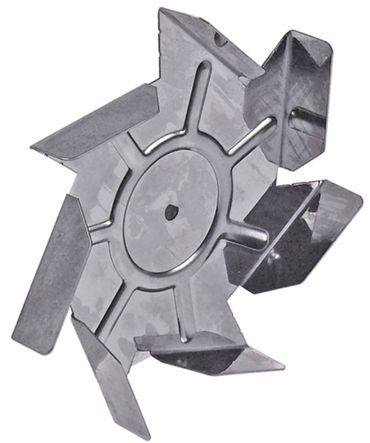 Lüfterrad ø 150mm 7 Schaufeln Achsaufnahme 6x5mm Breite 25mm
