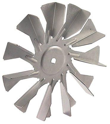 Lüfterrad ø 120mm 11 Schaufeln Achsaufnahme 6x5mm Breite 16mm