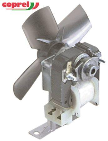 Ventilator 230V 18W Lüfterrad ø 130mm 50Hz 21mm Anschluss links