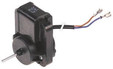 Cookmax Lüftermotor F61-10 für 629001 230V 50/60Hz Achse ø 3mm