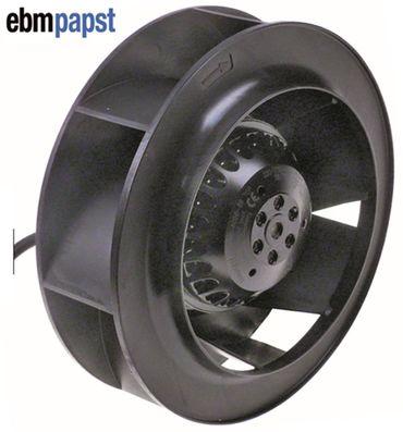 EBM-PAPST Ventilator R2E190-A026-66 230V 58W Lüfterrad 190mm 50Hz