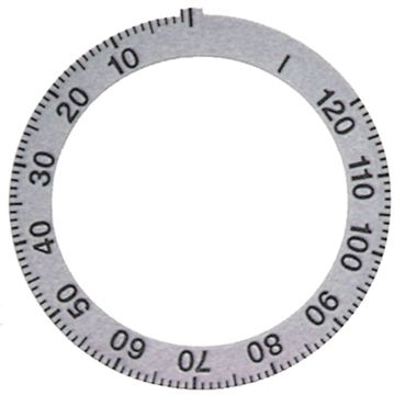 Küppersbusch Knebelsymbol für ECD220, ECD120, ECD110 silber
