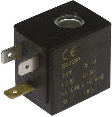 SIRAI Magnetspule Spulentyp Z614A Aufnahme ø 10mm 10VA Breite 25mm