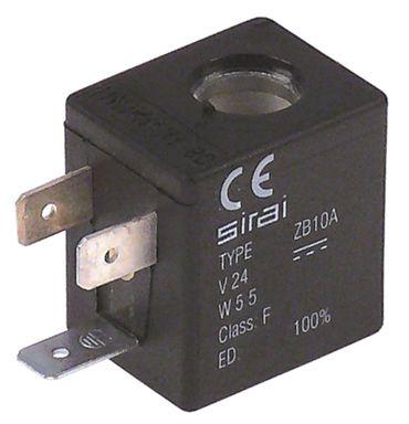 SIRAI Magnetspule für Angelo Po 24V Spulentyp ZB10A 5,5VA 10mm