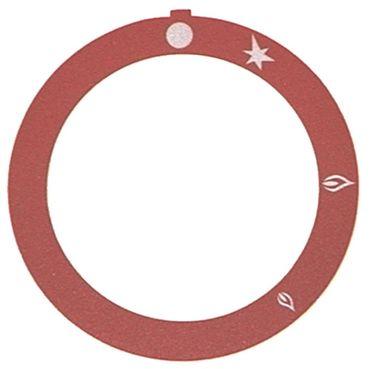 Küppersbusch Knebelsymbol für NGS100, NGS080, NGS060 rot