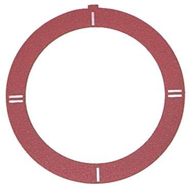 Küppersbusch Knebelsymbol für FGH615, NGH615, NGH415 rot