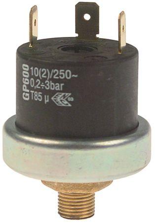 Angelo-Po Pressostat GP600 0,2-3,0bar für Kombidämpfer 250V