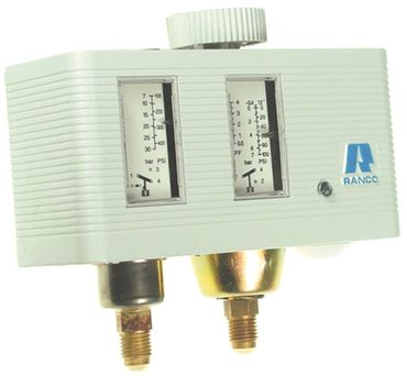 Eliwell Pressostat O17-H4705 für Kühlgerät Druckanschluss vertikal