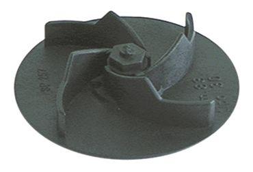 Bonnet Laufrad für Spülmaschine 4 Schaufeln Höhe 22mm ø 90mm