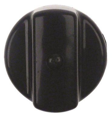 Knebel für Espressomaschine ø 42mm für Achse 5x5mm schwarz