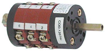 BREMAS CS0168341 Drehschalter für Spülmaschine Comenda FC 400V 6