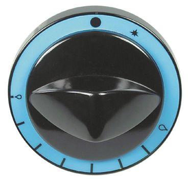 Modular Knebel für Gasthermostat ø 82mm für Achse ø 8x6,5mm
