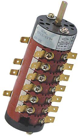 Bremas Drehschalter 13-polig 20A passend für Electrolux