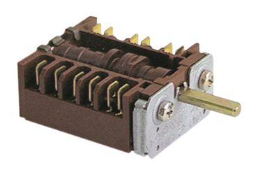 EGO 46.23866.580 Nockenschalter für Heiße-Theke 3-polig 23mm 5NO
