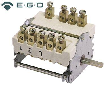 EGO Nockenschalter 43.25232.020 passend für Electrolux, Alpeninox, Angelo Po