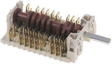 Electrolux Nockenschalter für 240913, 240914, 260913 6-polig 23mm