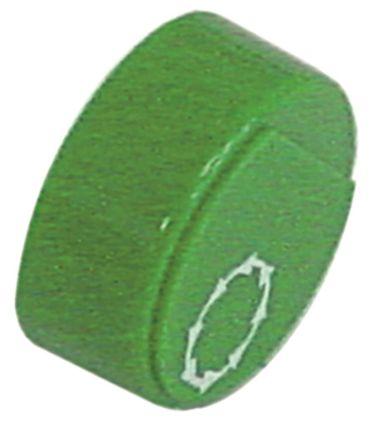 Comenda Drucktaste grün Start für Spülmaschine ohne Linse
