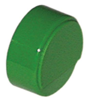 Comenda Drucktaste grün für Spülmaschine ohne Linse