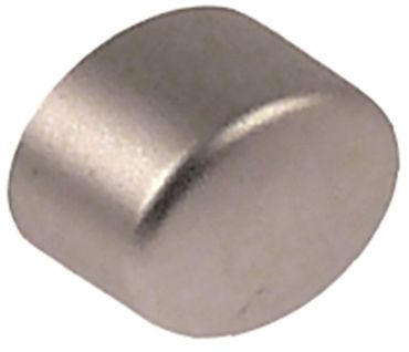Cookmax Drucktaste für Spülmaschine silber Abmaße 13x17mm