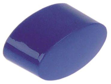 Amatis Drucktaste blau für Spülmaschine Abmaße 11x21mm