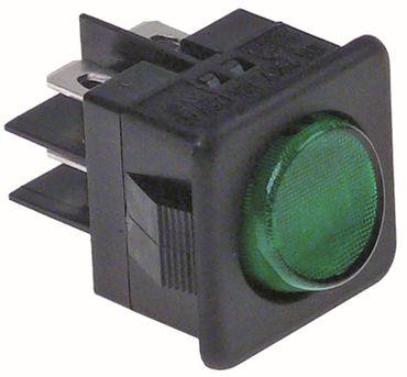 Angelo Po Wippenschalter Anschluss Flachstecker 6,3mm 2-polig 2CO