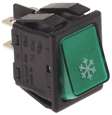 Electrolux Wippenschalter für 770507, 291321, 291323 2-polig 250V
