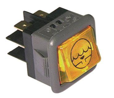 Comenda Wippentaster gelb Ablaufpumpe 250V 16A 2CO