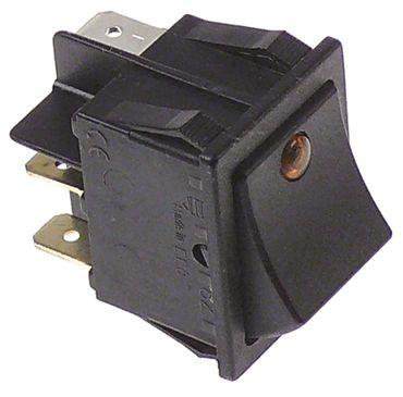 Fagor Wippentaster für FI-48B, FI-48, FI-64B gelb 230V 1-polig