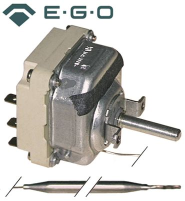 EGO 55.34034.010 Thermostat für Fritteuse Palux 601004, 601209 3NO
