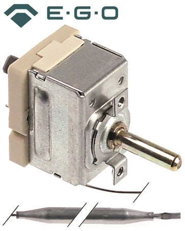 EGO 55.17012.010 Thermostat max. Temperatur 85°C 1-polig 1NO 23mm