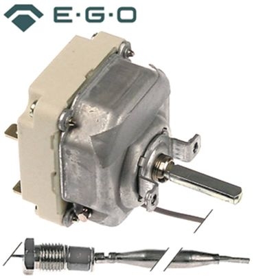 EGO 55.34039.030 Thermostat max. Temperatur 180°C 3-polig 3NO 16A