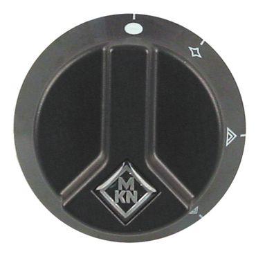MKN Knebel für Gasherd Optima für Gashahn ø 65mm schwarz