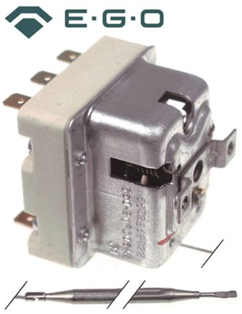 Mareno Cookmax Sicherheits-Thermostat Fritteuse FQE61 FQE41 max. 236°C EGO 55.32543.803