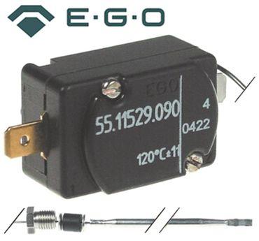 EGO 55.11529.090 Sicherheitsthermostat 1-polig Fühler ø 4x91mm
