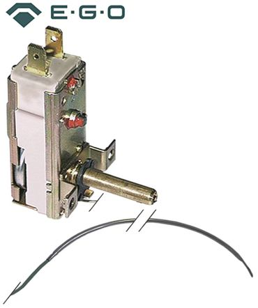 EGO 55.14022.100 Thermostat max. Temperatur 128°C 1x174mm 1NO 16A