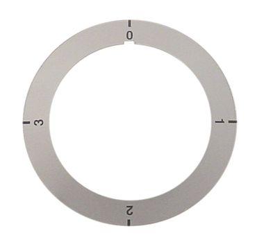 Ambach Knebelsymbol für ESK150, EKK-40, ESK-80 grau Aussen 68mm