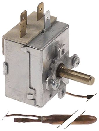 Angelo Po Thermostat für LF50E, LF50EM, LT25F 1x98mm 1CO 0-86°C