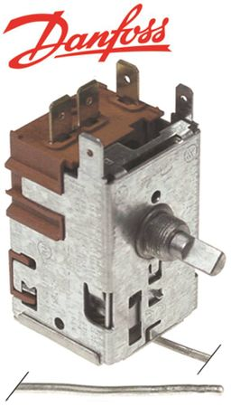 DANFOSS 077B7003 Thermostat max. Temperatur 3,5°C