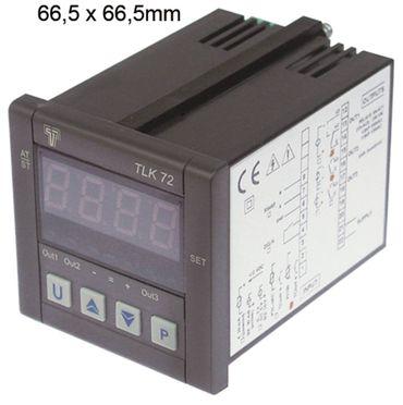 TECNOLOGIC TLK 72 Elektronikregler 100-240V AC Abmaße 67x67mm 2