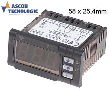 TECNOLOGIC E51-DNS Elektronikregler 230V AC für NTC NTC CO-16A(6)